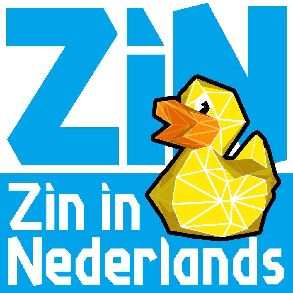 Zin in Nederlands logo vierkant
