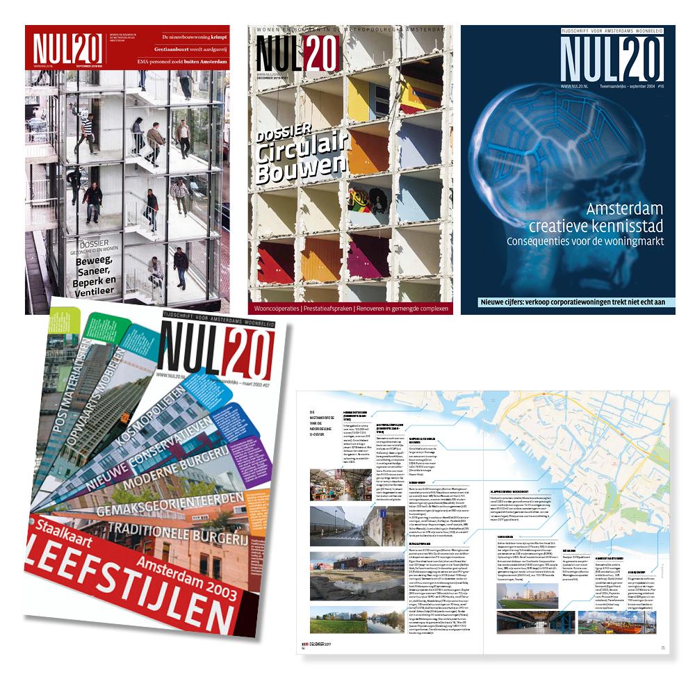 NUL20 covers tijdschriften